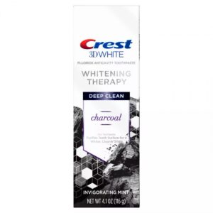 ЗУБНАЯ ПАСТА CREST 3D WHITE WHITENING THERAPY CHARCOAL